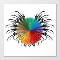 insect Canvas Prints featuring İnsect by kartalpaf