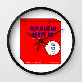 Republican Party-Os Wall Clock