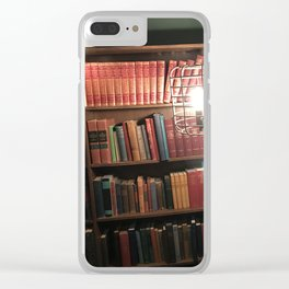 Live in the Library Clear iPhone Case