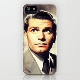 Sir Laurence Olivier, Actor iPhone Case