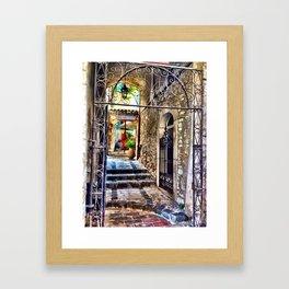 Gourdon Alley Framed Art Print