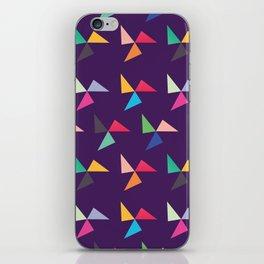 Colorful geometric pattern IV iPhone Skin