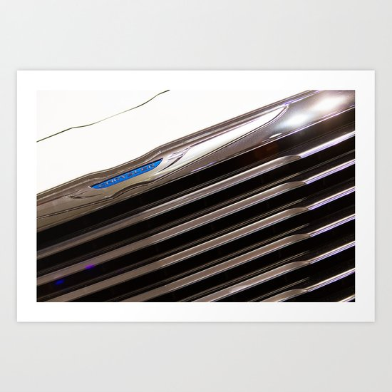 Chrysler 300C Car Logo Art Print