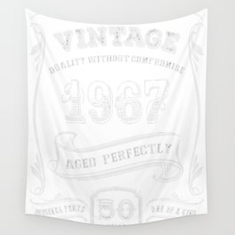 Vintage-1967---50th-Birthday-Gift-Idea Wall Tapestry