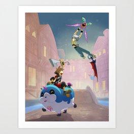 Fun Dreamings Art Print