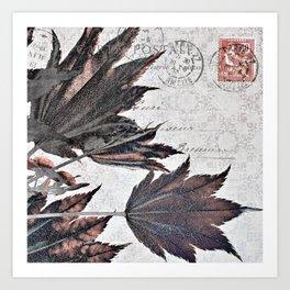 flying maple Art Print