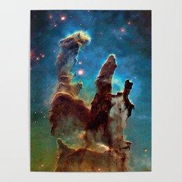 Eagle Nebula's Pillars Poster