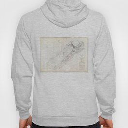 Vintage Map of Alexandria Egypt (1867) Hoody