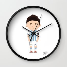 Lionel Messi - Argentina - World Cup 2014 Wall Clock