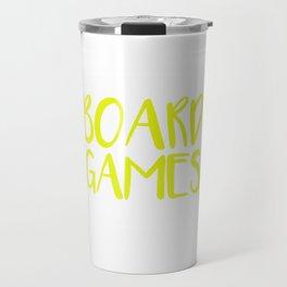 Board Games Travel Mug