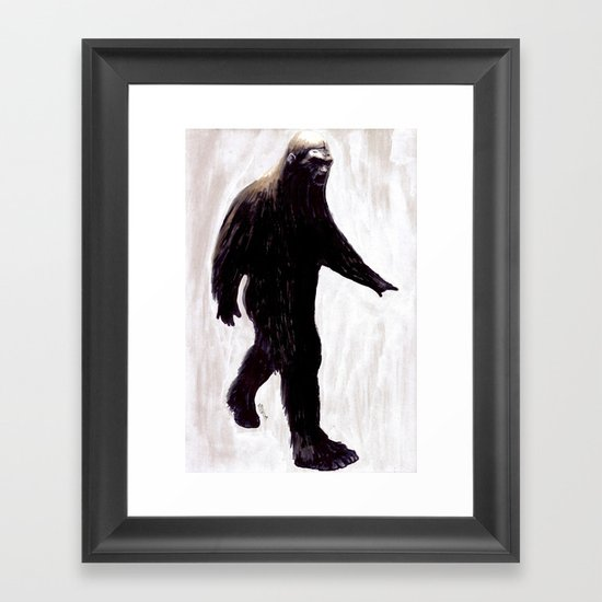 Bigfoot Framed Art Print