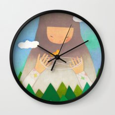 Forest giant Wall Clock