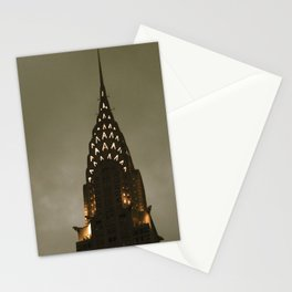 Chrysler Building at Twilight Stationery Cards