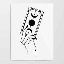 Tarot Hand Poster