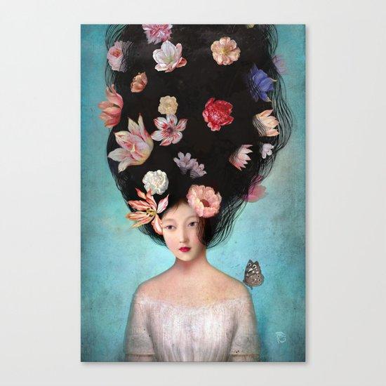 The Botanist's Daughter Canvas Print