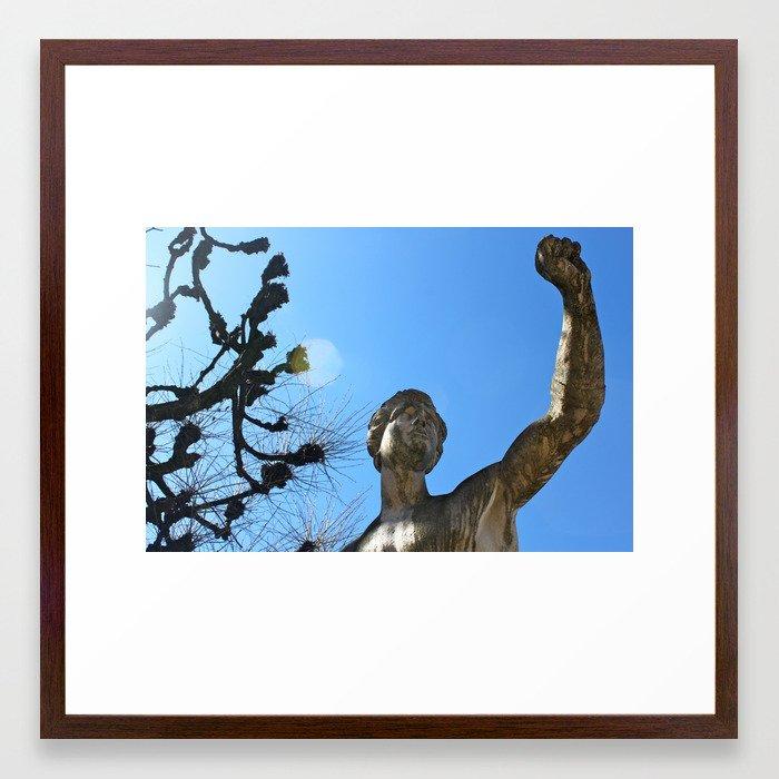 Stronger Framed Art Print