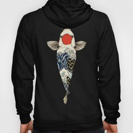 The Great Wave Of Koi Hoody