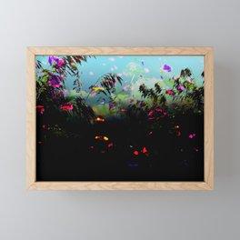 dark meadow Framed Mini Art Print