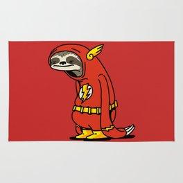 Sloth Flash hero Rug