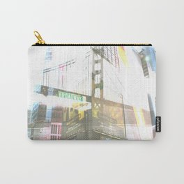 SF to NY Carry-All Pouch