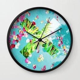 "the ""X"" Wall Clock"