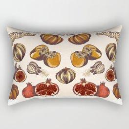Fall Produce Rectangular Pillow