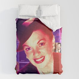 Judy Garland Collage Portrait Comforters