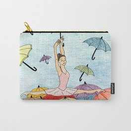 Dance with umbrellas Carry-All Pouch