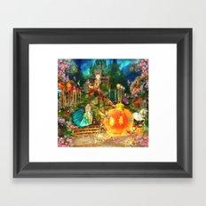 Cinderella Framed Art Print