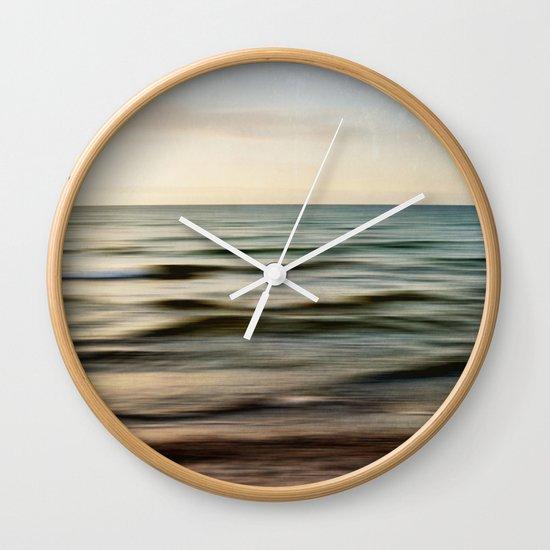 sea square I Wall Clock