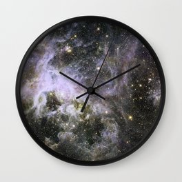 Tarantula Nebula 2 Wall Clock