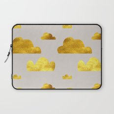 Gold Clouds Laptop Sleeve