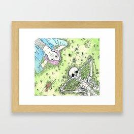 Cuddles  Framed Art Print
