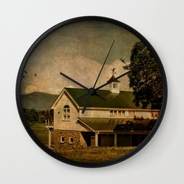 Redhook Farm Wall Clock
