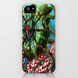 Striped Kuma Beast iPhone Case