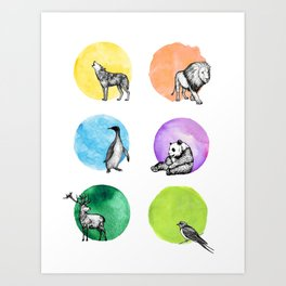 Animal Kingdom Art Print