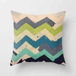 Abstract Artwork Painting Laundry JFS Throw Pillow