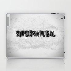 Supernatural monochrome Laptop & iPad Skin