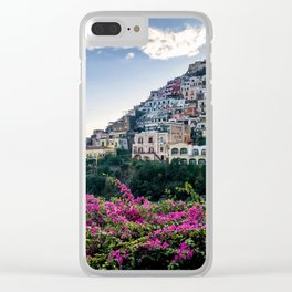 Positano cityscape, Italy Clear iPhone Case
