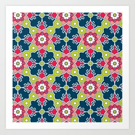 Turkish Tile Art Print