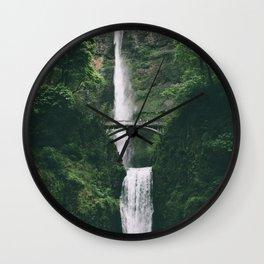 Multnomah Falls III Wall Clock