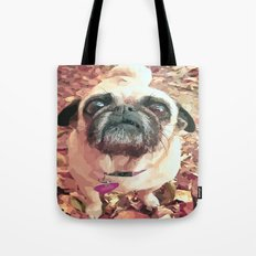 Pug Love ~ In Delilah's Eyes Tote Bag