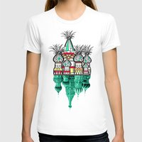 architecture T-shirts featuring Pineapple architecture  by AmDuf