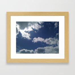 Clouds 02 Framed Art Print