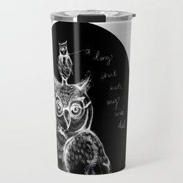 A long chat with my wise dad. By Sarah Clement Travel Mug
