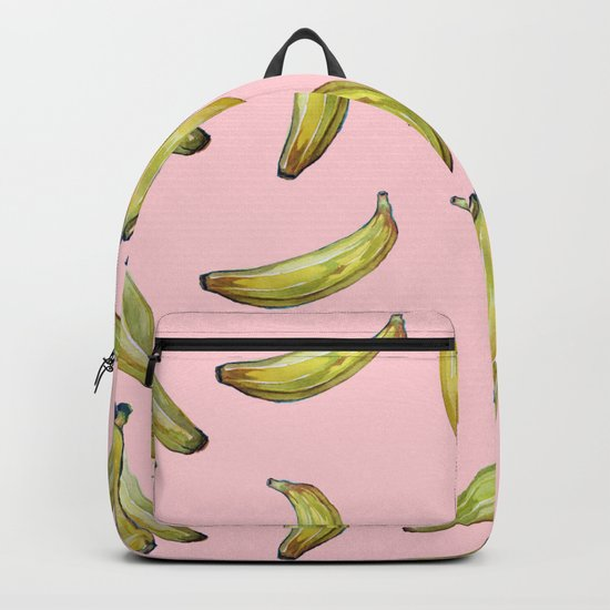 Banana!!pink Backpack
