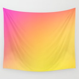 PEACH / Plain Soft Mood Color Blends / iPhone Case Wall Tapestry