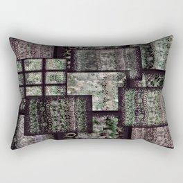 Bohemian Combo Boysenberry Rectangular Pillow