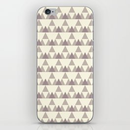 Tiny Triangles iPhone Skin