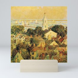 Classical Masterpiece 'Provincetown' by Frederick Childe Hassam Mini Art Print